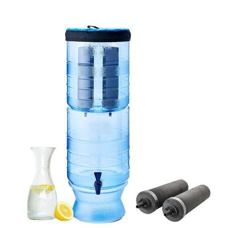 Wolnostojący system do filtrowania wody z wydajnym filtrem na 22700 litrów wody  Berkey Light LB20