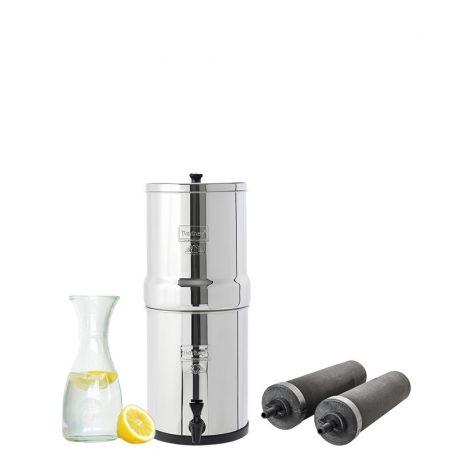 Niewielki wolnostojący filtr do wody dla pary lub małej rodziny | Travel Berkey TB20