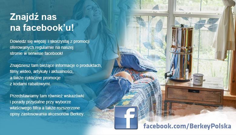 Znajdź nas na Facebook'u!