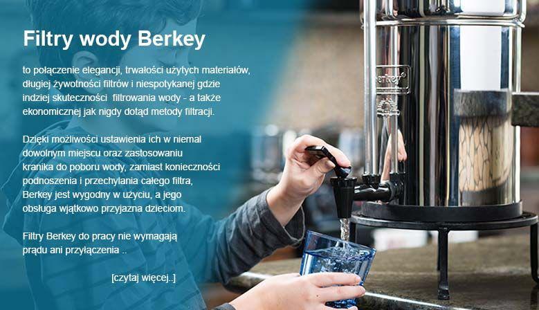 Poznaj filtry wody Berkey